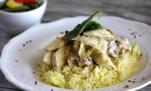 Zaza's Italian & Mediterranean Cuisine: Lunch or Dinner for Two or Four at  Zaza's Italian & Mediterranean Cuisine (Up to 40% Off)