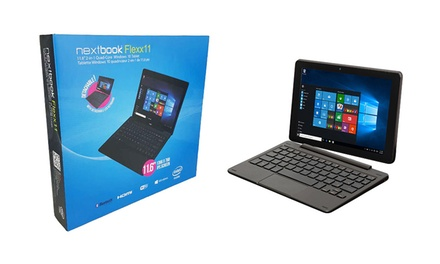 $339 for a Nextbook Flexx11 TwoinOne QuadCore Windows 10 Tablet