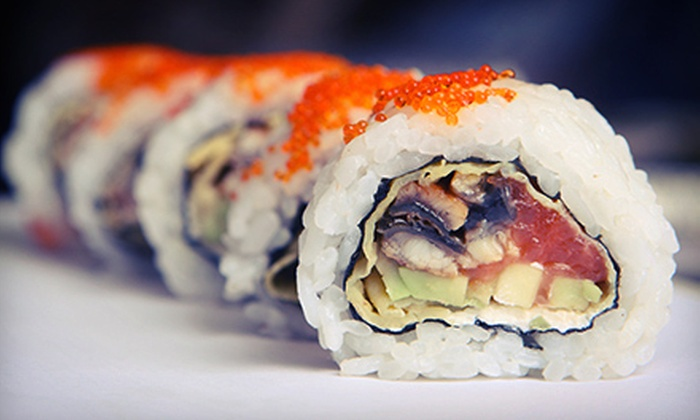 Sekisui Sushi Bar & Steakhouse - Walnut Valley: Japanese Fusion Cuisine for Lunch for Two or Dinner for Two or Four at Sekisui Sushi Bar & Steakhouse (Half Off)