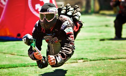 Gun, Mask, and All-Day Admission for Two, Four, or Six from <strong>Paintball</strong> Tickets (Up to 83% Off)