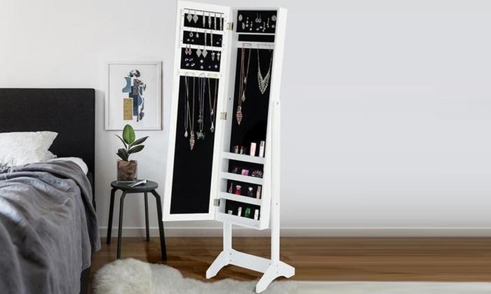Miroir psyché porte-bijoux   Groupon Shopping