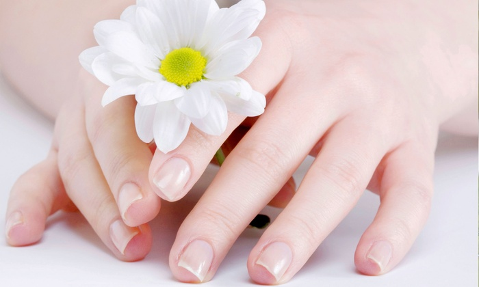 Nails by Francesca at Portfolio Hair & Beauty Works - Hillcrest: One or Two Mani-Pedis with Lemon Soufflé Scrubs at Nails by Francesca at Portfolio Hair & Beauty Works (Up to 56% Off)