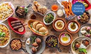 Harbour Street Modern Lebanese Cuisine: Mixed Platter, Dessert + Drinks for Two ($45) or Six People ($145) at Harbour Street Modern Lebanese (Up to $423 Value)