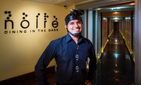 Three-Course Dining in the Dark Experience for Up to Four with Noire at Fairmont Dubai (Up to 24% Off)
