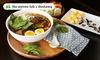 Zupa miso, grill fish lub warzywna