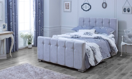 canterbury fabric bedframe