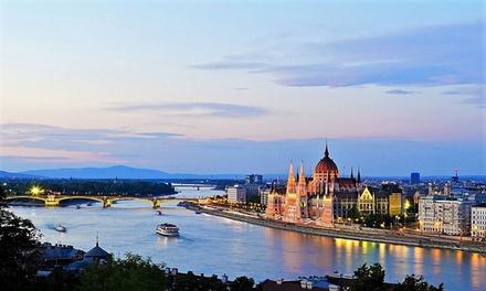 ✈ Budapest: volo A/R diretto, soggiorno di 2 o 3 notti in hotel e crociera sul Danubio per una persona