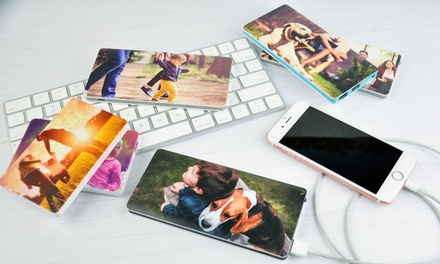 Personalised Power Bank: 3000mAh $9 or 8000mAh $19 Don't Pay up to $49.95