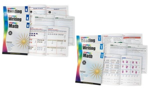 Spectrum Reading, Writing, and Math Workbook Sets for Grades K-6