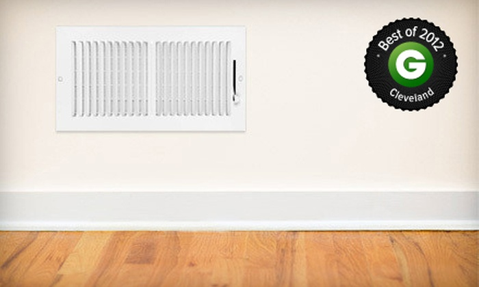 Sears Duct Cleaning - Cleveland: $85 for Cleaning of Up to 10 Air Ducts from Sears Duct Cleaning (Up to $249.99 Value)