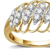 1/2 CTTW Diamond Ring in 14K Gold Plating by DeCarat