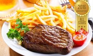 מסעדת הקצבים: מסעדת הקצבים בשוק מחנה יהודה: ארוחת סטייק ליחיד/זוג החל מ-79 ₪, או פלטת קילו בשרים פרימיום רק ב-179 ₪ לזוג! כולל חנוכה