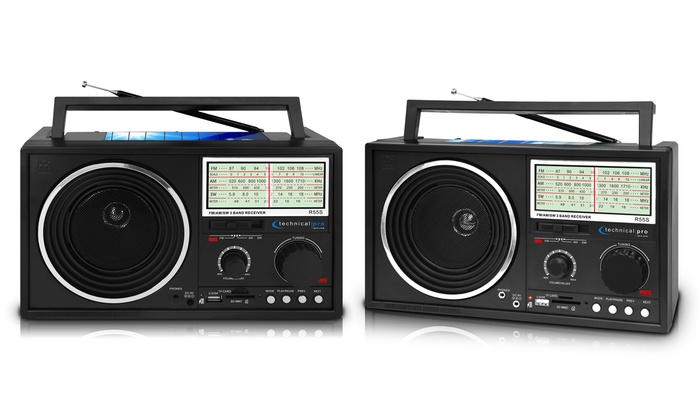 Up To 57% Off on Bluetooth Shortwave Radio | Groupon Goods