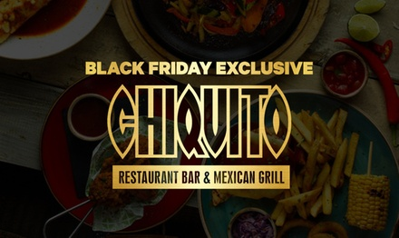 TwoCourse Dinner with Optional Classic Cocktail for Two at Chiquito, Multiple Locations