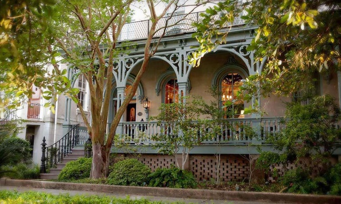The Dresser Palmer House - Downtown Savannah: Two-Night Stay with Options for Trolley Tour or Scooter Rental at The Dresser Palmer House in Savannah, GA