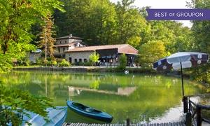 Parco Matildico: Fino a 3 ingressi al Parco Matildico con passeggiata sui laghi, percorso avventura, canoa e pranzo (sconto fino a 55%)