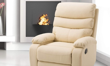 Padded Recliner Armchair