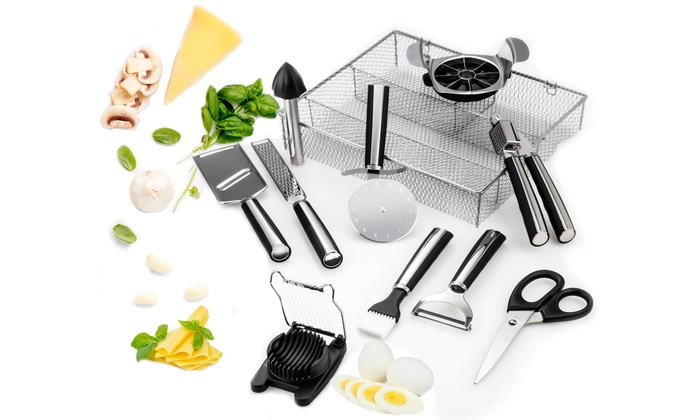 Up To 60 Off On Kitchen Essentials Set 11 Pc Groupon Goods