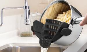 Snap'N Strain Kitchen Strainer