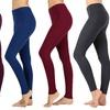 Women's Full-Length Cotton Leggings. Plus Sizes Available.