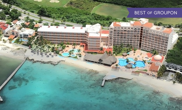 TripAlertz wants you to check out ✈ 4, 6, or 7 Night All-Inclusive El Cozumeleno Resort Stay w/ Nonstop Air. Price/Person Based on Double Occupancy.  ✈ All-Inclusive El Cozumeleno Resort Trip w/Air from Vacation Express  - All-Inclusive Cozumel Vacation