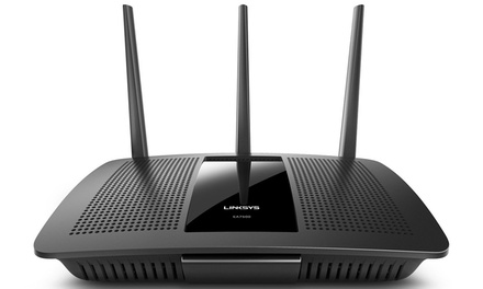Linksys Max-Stream AC1900 MU-MIMO Gigabit with WiFi Router (Manufacturer Refurbished)