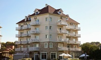 Cariló: desde $1299 por 2, 3 o 4 noches para dos + desayuno buffet + spa en Costa Cariló Apart Hotel & Spa de Mar