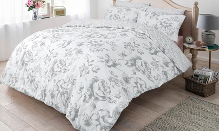 Pieridae Floral Reversible Duvet Set