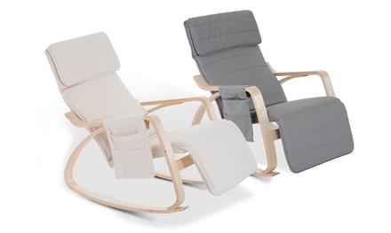 HomCom Rocking Lounge Chair