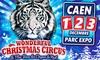 Grand Cirque de Noël de Caen - Mx Shows Production: 1 place pour le Grand Cirque de Noël, catégorie et date au choix, dès 9,90 € au Parc des Expositions à Caen