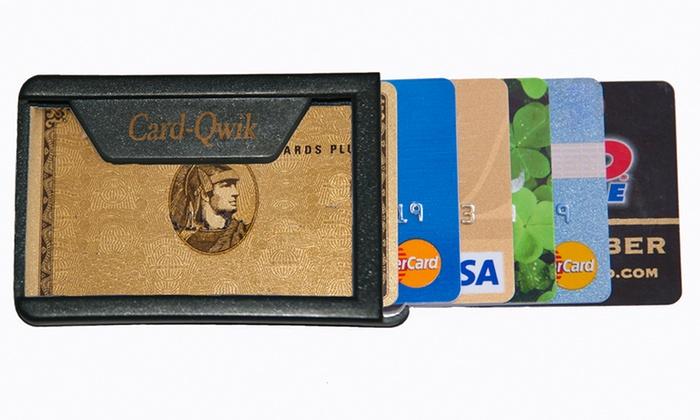 Card-Qwik Card Wallet
