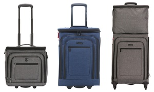 Traveler's Club Expandable Top Suitcase Luggage (Carry-on and Spinner)