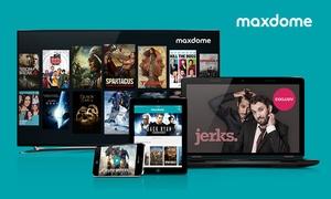 Maxdome: 3 oder 6 Monate maxdome Paket Filme & Serien (67% sparen*)