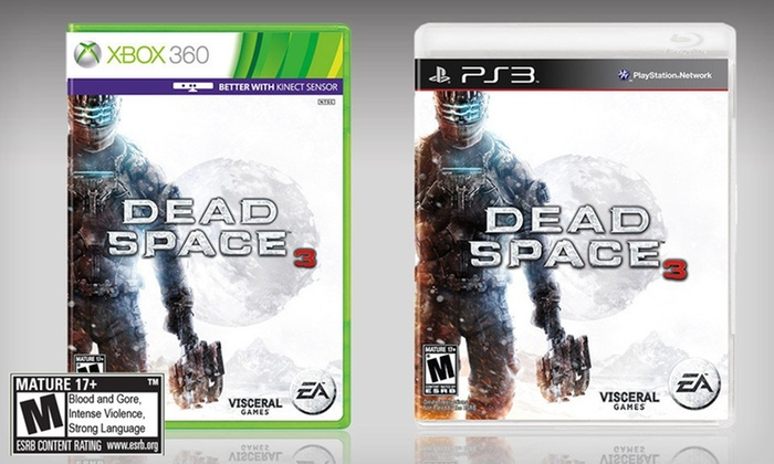 Dead Space 3 for PS3 or Xbox 360: $29.99 for Dead Space 3 for PS3 or Xbox 360 ($59.99 List Price). Free Shipping.