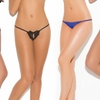 Elegant Moments Women's Crotchless Panties
