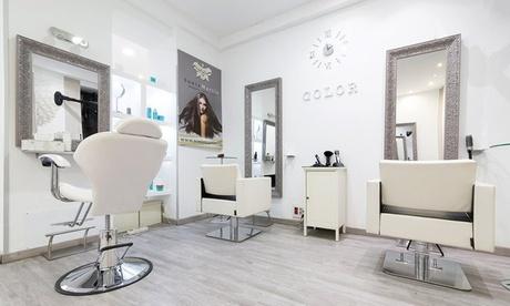 Sesión de peluquería con corte y opción a tinte y/o mechas desde 19,95 € en Sonia Martín Oferta en Groupon