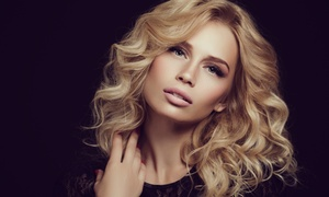 Salon 46: Dry Cut or Wash, Cut and Blow-Dry with Optional Half Head of Highlights at Salon 46 (Up to 74% Off)