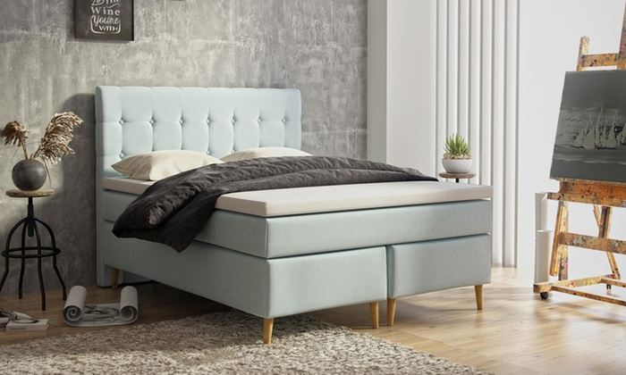 Bed Met Matras En Lattenbodem.Bed Met Lattenbodem Met Matras Groupon Goods