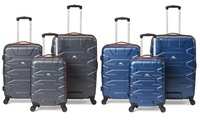 3-Piece High Sierra Hardside Spinner Luggage Set (Mercury with Red Line)