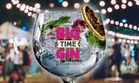 Big Time Gin Festival on Saturday, 28 October at York Racecourse (50% Off)