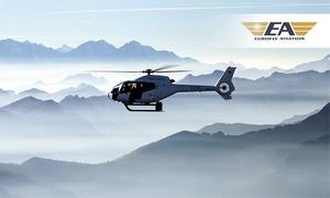Eurofly Aviation GmbH: 20 oder 30 Min. Hubschrauber-Rundflug mit Fensterplatz in ganz Deutschland für 1 bis 2 Personen bei Eurofly Aviation