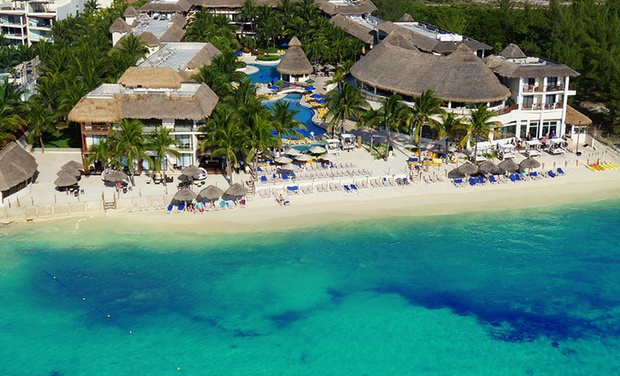 TripAlertz wants you to check out ✈ 3-, 4-, 5-, 6-, or 7-Night All-Inclusive Reef Coco Beach Stay w/Nonstop Air from Vacation Express ✈All-Incl. Reef Coco Beach Stay w/Nonstop Air from Vacation Express - All-Inclusive Mexico Vacation