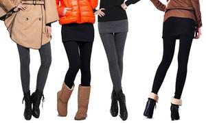 (Mode)  Pack legging jupe -63% réduction
