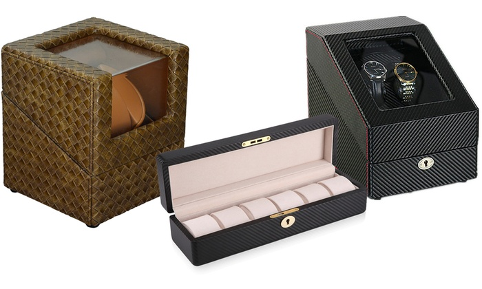 Groupon Direct - 476400: Watch Winder Case from AED 149