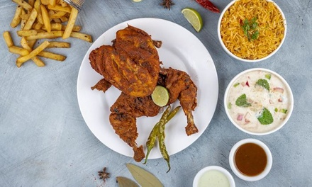 Iftar Buffet for Child or Up to Eight Adults at Androon Lahore Restaurant, Online Booking Available.