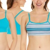 Fruit of the Loom Spaghetti Sports Bras (3-Pack)