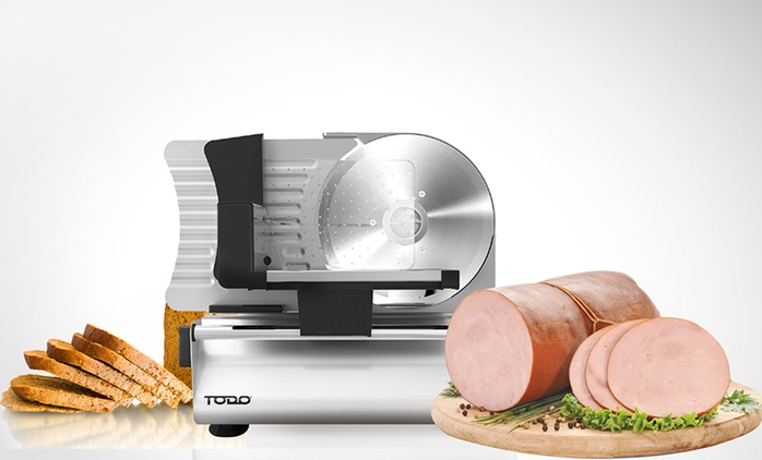 $79 Todo 200W Stainless Steel Electric Deli Food Slicer (Don't Pay $229)