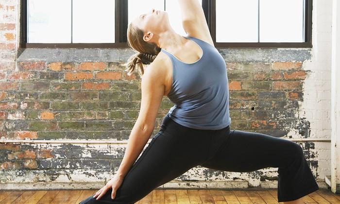 The Winnie Yoga Studio - Central City: $39 for 10 Yoga Classes at The Winnie Yoga Studio ($80 Value)