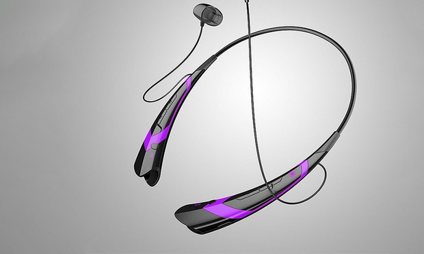 BluetoothStereo Neckband Headset: One ($17.95) or Two ($29.95)