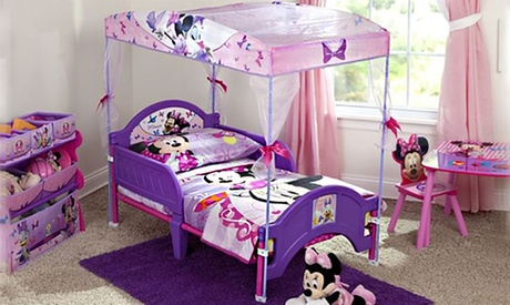 Disney Minnie Mouse Toddler Canopy Bed 6d5e0ace-284e-4bbf-a558-9ff05af7a196